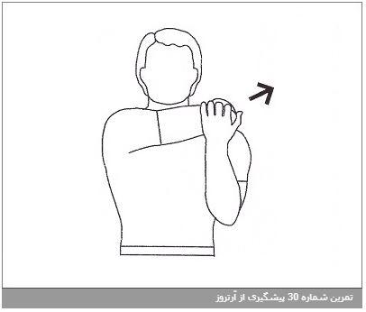 تمرین شماره 30 پیشگیری از آرتروز