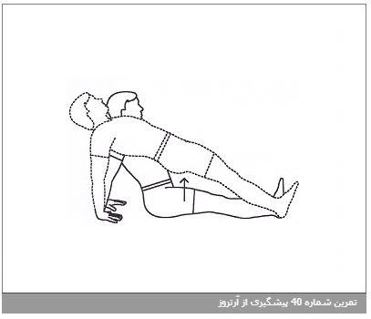 تمرین شماره 40 پیشگیری از آرتروز