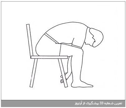 تمرین شماره 33 پیشگیری از آرتروز