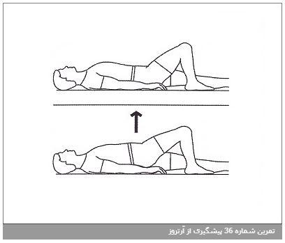 تمرین شماره 36 پیشگیری از آرتروز