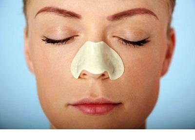 استفاده از چسب بینی تنفس را راحت تر می کند .