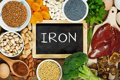 مواد غذایی غنی از آهن