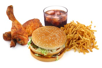 عادت های غذایی نادرست