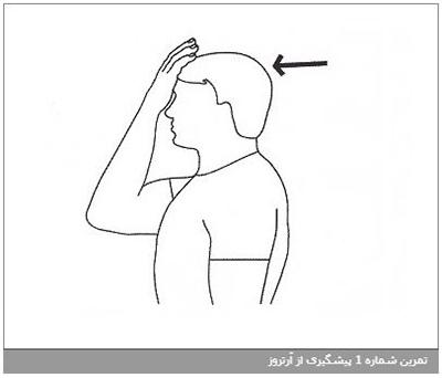 تمرین شماره 3 پیشگیری از آرتروز