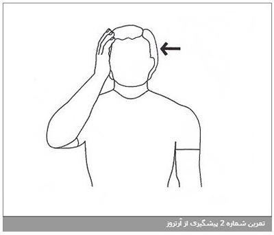 تمرین شماره 4 پیشگیری از آرتروز