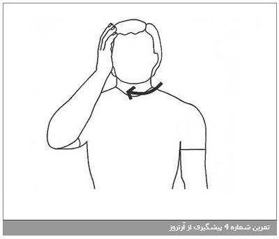 تمرین شماره 6 پیشگیری از آرتروز