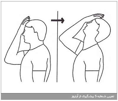 تمرین شماره 7 پیشگیری از آرتروز