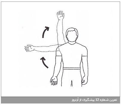 تمرین شماره 12 پیشگیری از آرتروز