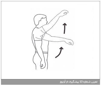 تمرین شماره 13 پیشگیری از آرتروز
