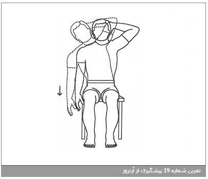 تمرین شماره 19 پیشگیری از آرتروز